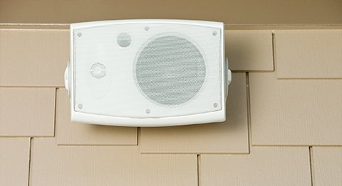 out-door speakers